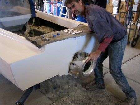 Mike O,Neal adding new billet jet drive 5/17/15
