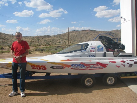The new boat was just finished today! 7/29/2014   Note. the capsule cowling was just added!